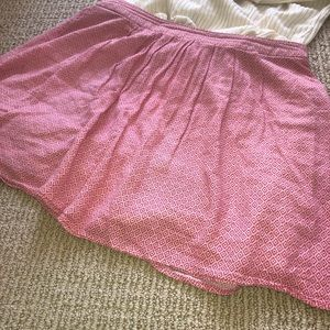 Old Navy Skirts - Red flowered skirt